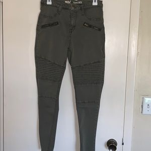 Army green jegging